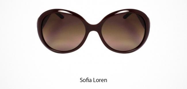 Sofia Loren Brille