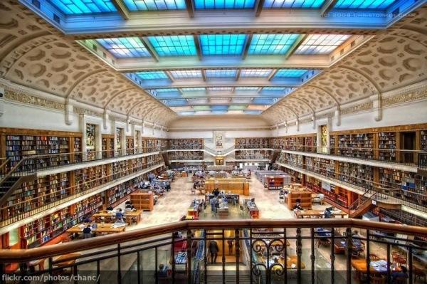 Staatsbibliothek von New South Wales, Sydney, Australien