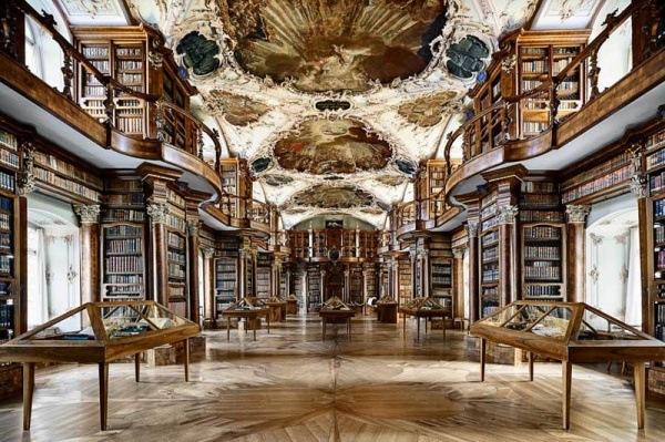 Stiftsbibliothek St. Gallen in der Schweiz