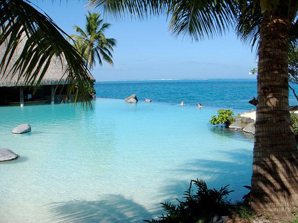 Tahiti Schwimmbäder