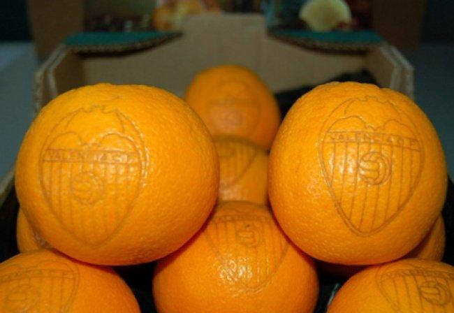 Tattoos auf Obst anstelle von Labels 1