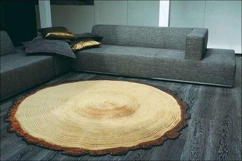 Teppich Baumstumpf