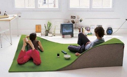 Teppich mit Reliev