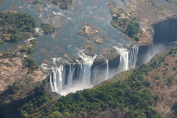 Teufels Pool, Viktoriafaelle, Simbabwe