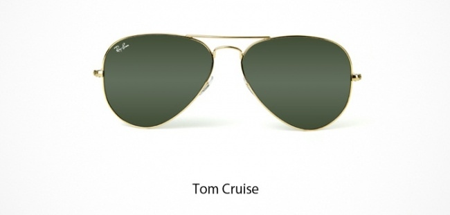 Tom Cruise Brille