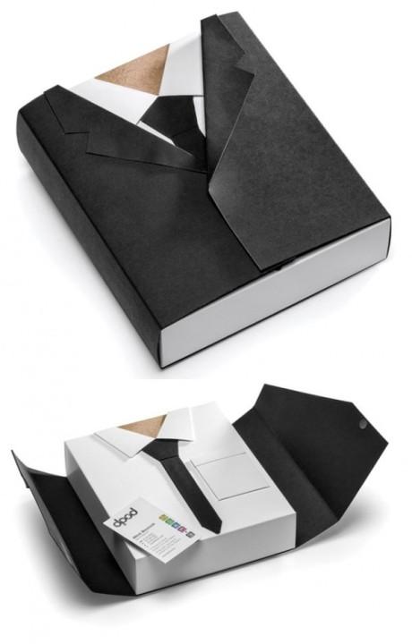 Visitenkarte-Anzug