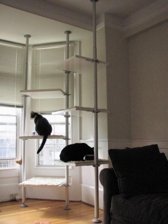 Wie die Praxis zeigt, gefallen Racks und Regale von IKEA nicht