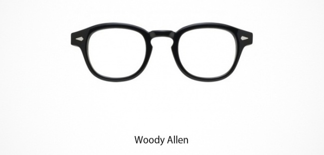 Woody Allen Brille