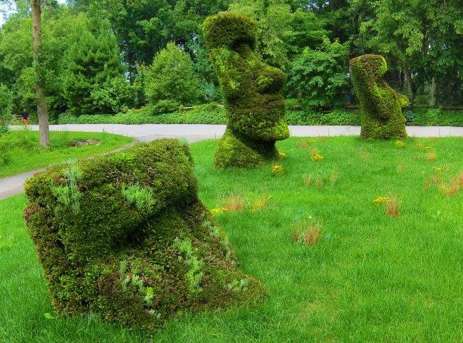 drei Waechter Skulpture