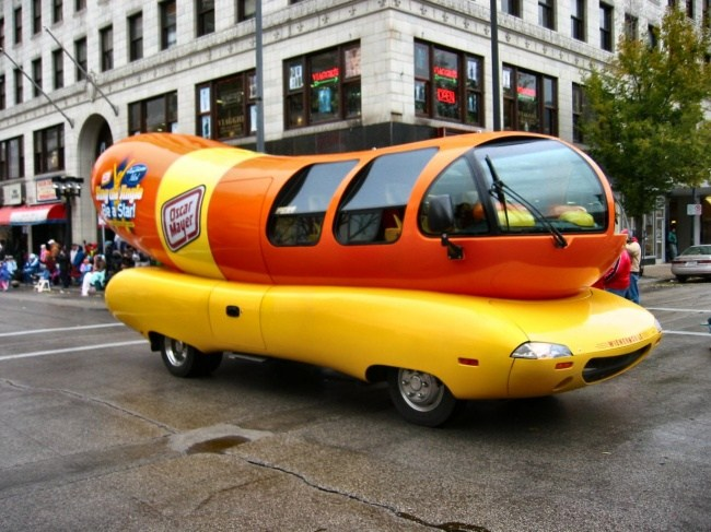 Hotdog mobil
