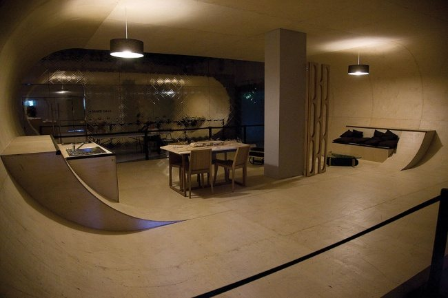 Apartment fuer Skater