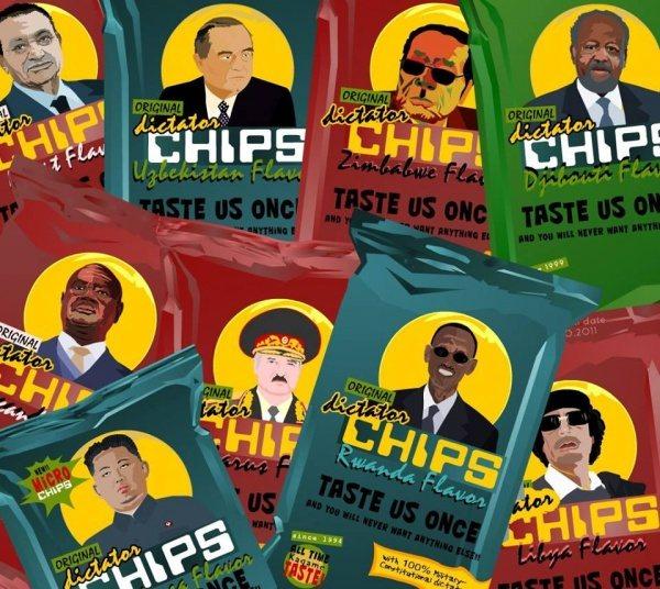 Chips mit weltweit renommierten Politikern 06