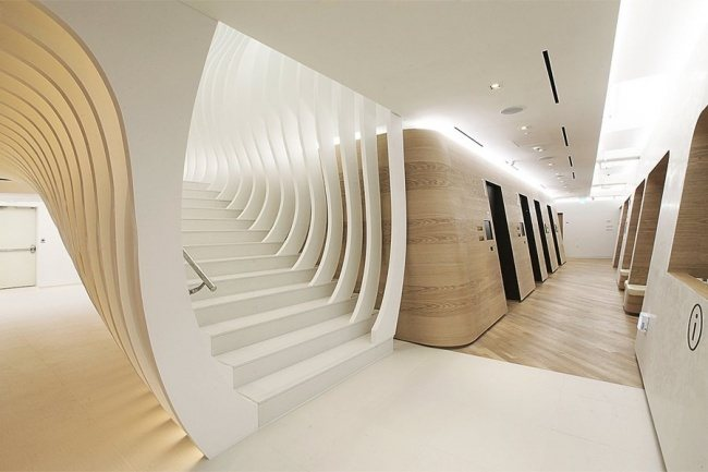 Das Innere des Wellness-Center in Seoul 1
