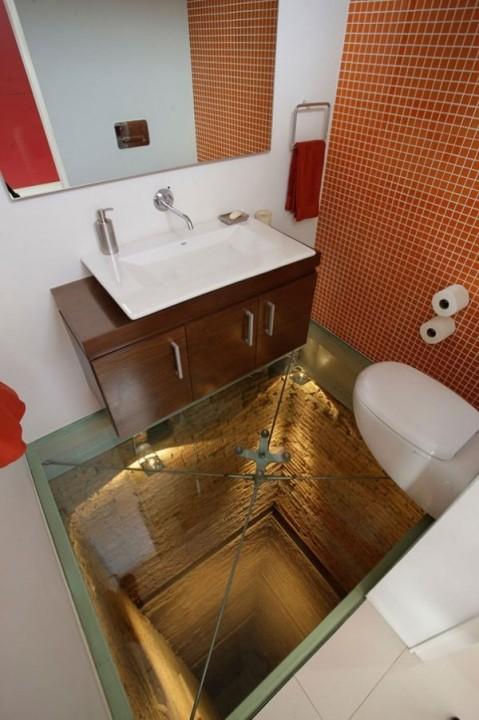 Das Schrecklichste in der Welt ist dieses Badezimmer
