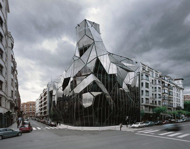 Der Hauptsitz der baskischen Health Department