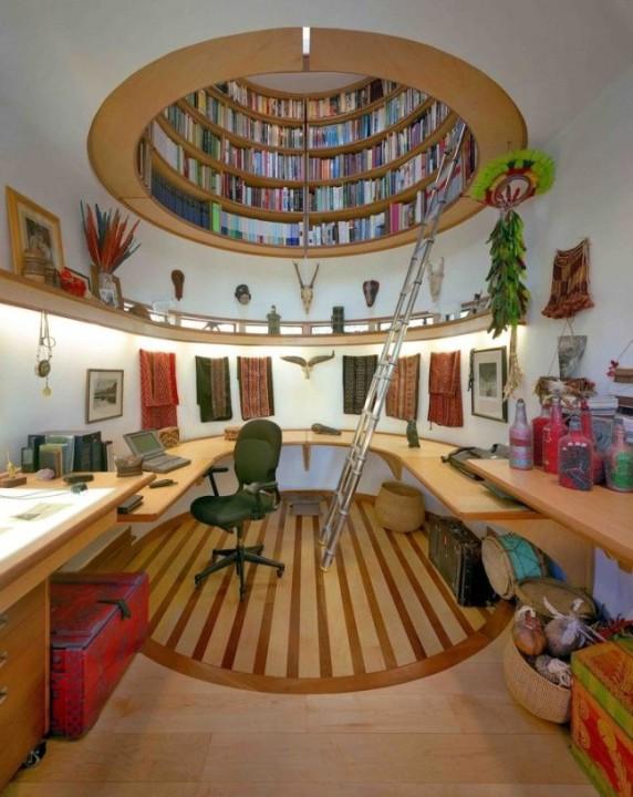 Die Bibliothek von Ved Davis
