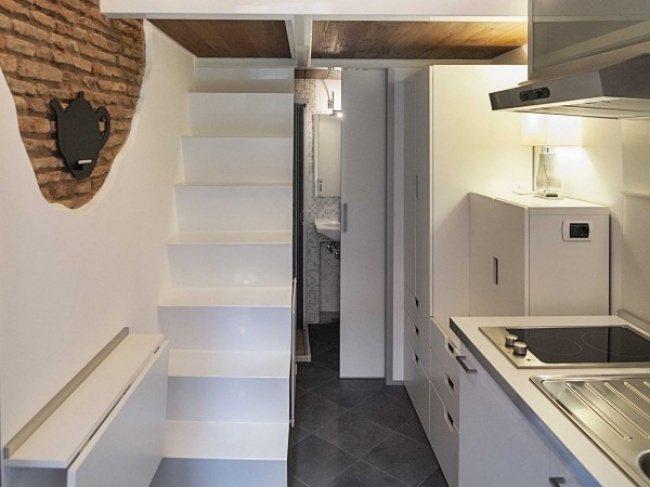 Die kleinste Wohnung in Italien 1