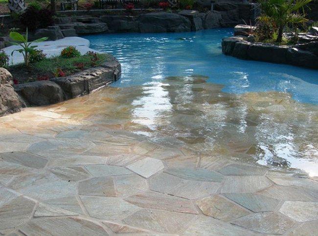 Glatter Eintritt in das Schwimmbad