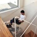 Haengematte ueber der Treppe