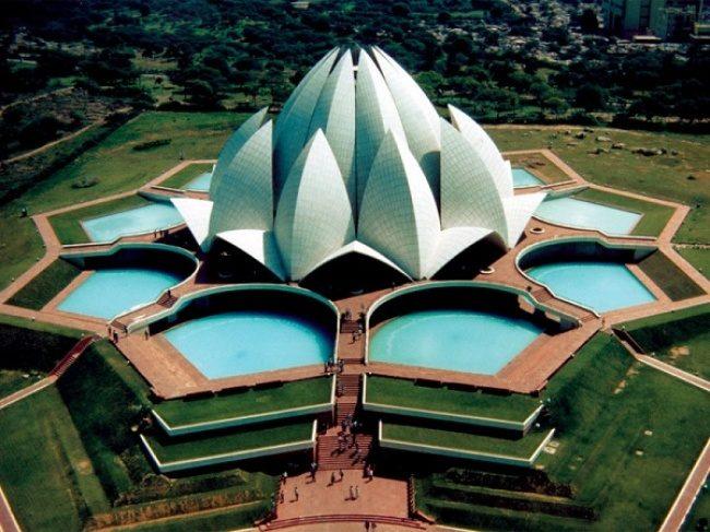 Lotus-Tempel