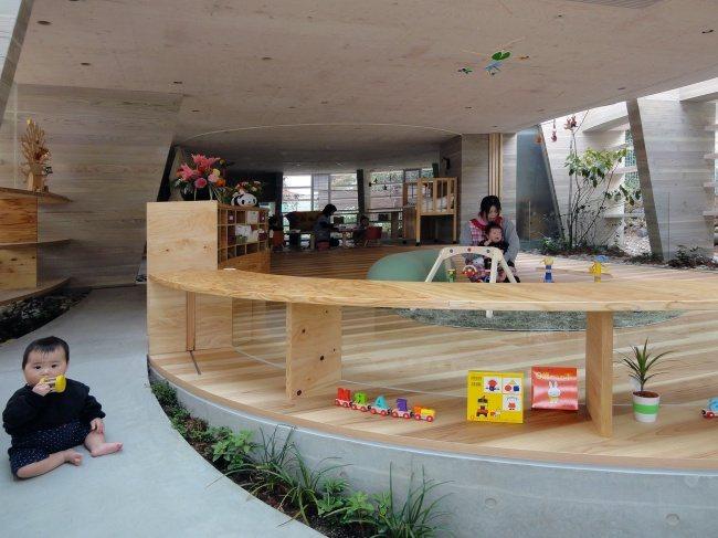 Moderner Kindergarten in Hiroshima 2