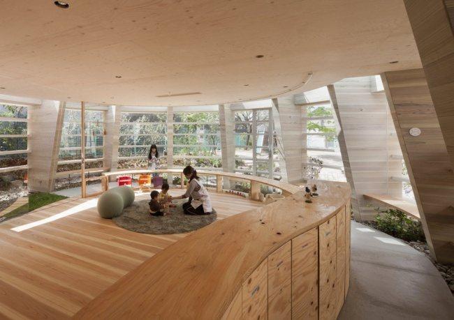 Moderner Kindergarten in Hiroshima