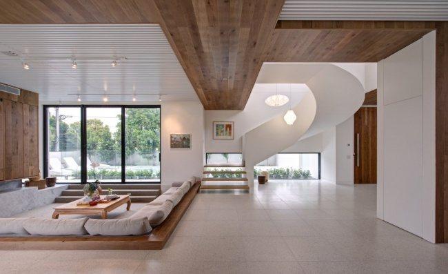 Modernes Haus von australischen Architekten