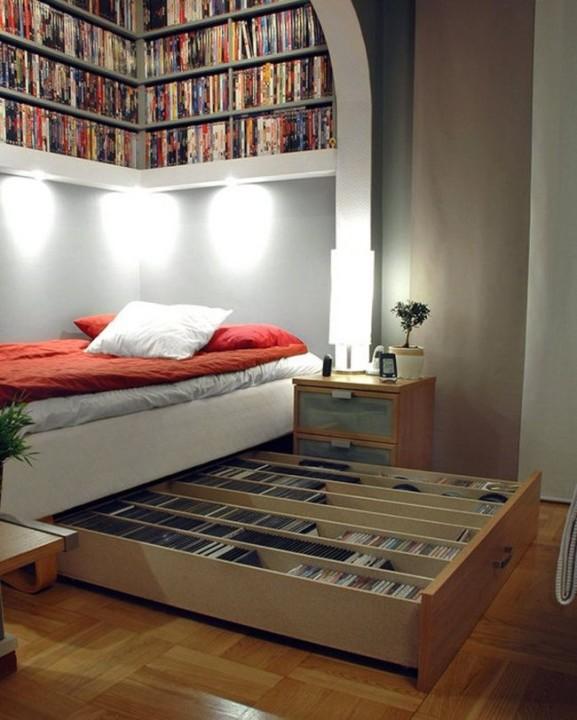 Schlafzimmer und Leseraum