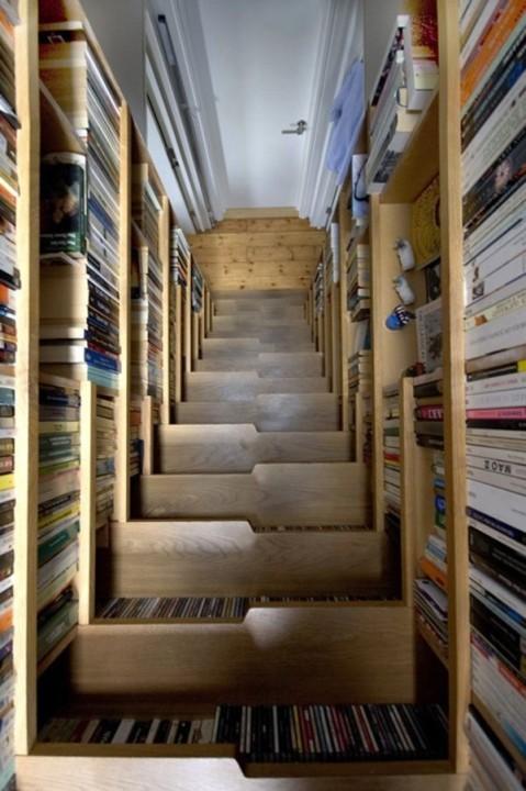 Treppen-Bibliothek