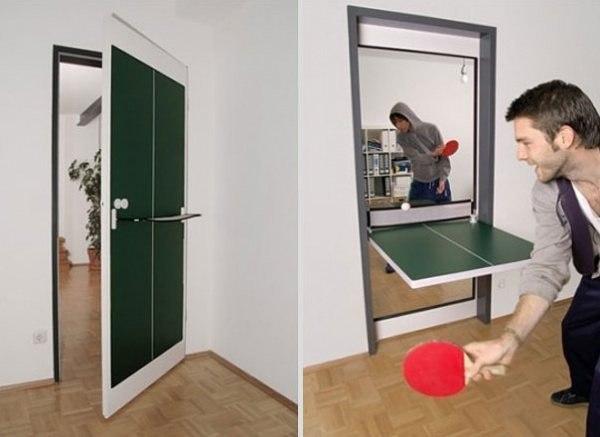 Tuer fuer Tischtennis 1