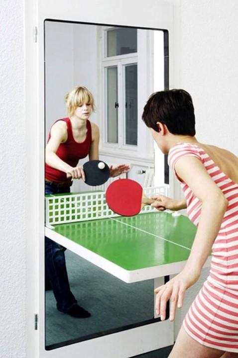 Tuer fuer Tischtennis