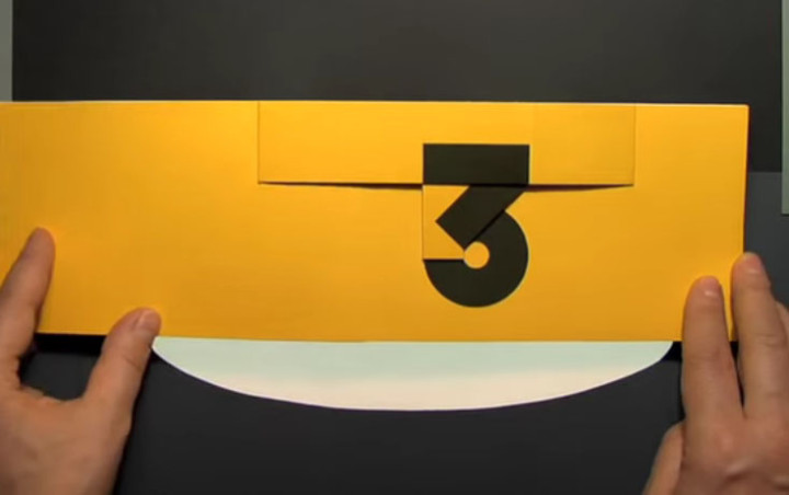 Das originelle Kinderbüch Design mit Volumenzahlen
