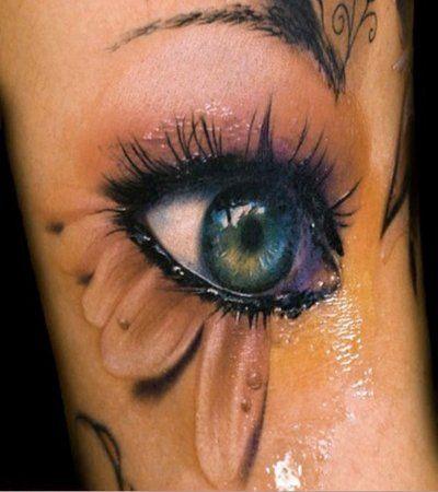 Erstaunlich realistische 3D Tattoos 1
