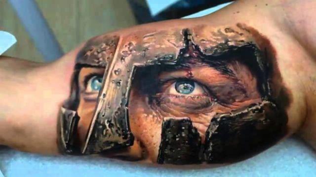 Erstaunlich realistische 3D Tattoos 14