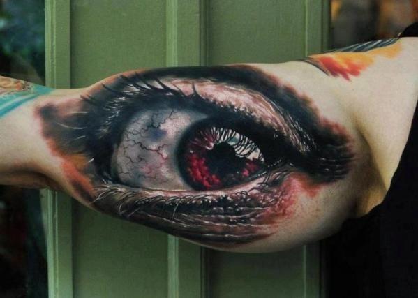 Erstaunlich realistische 3D Tattoos 15