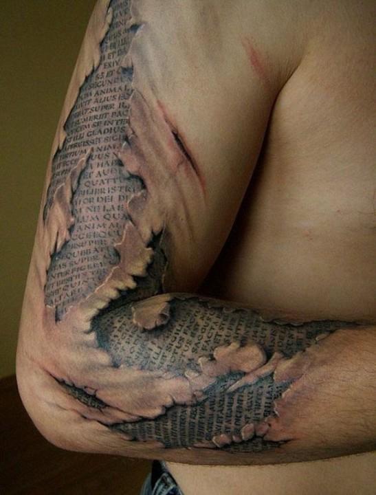 Erstaunlich realistische 3D Tattoos 16
