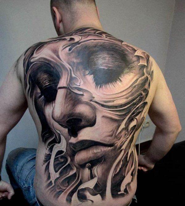 Erstaunlich realistische 3D Tattoos 17