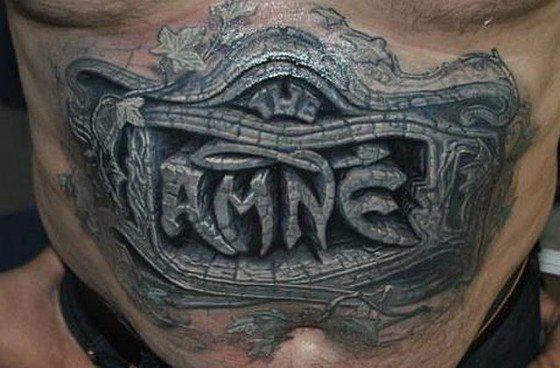 Erstaunlich realistische 3D Tattoos 3