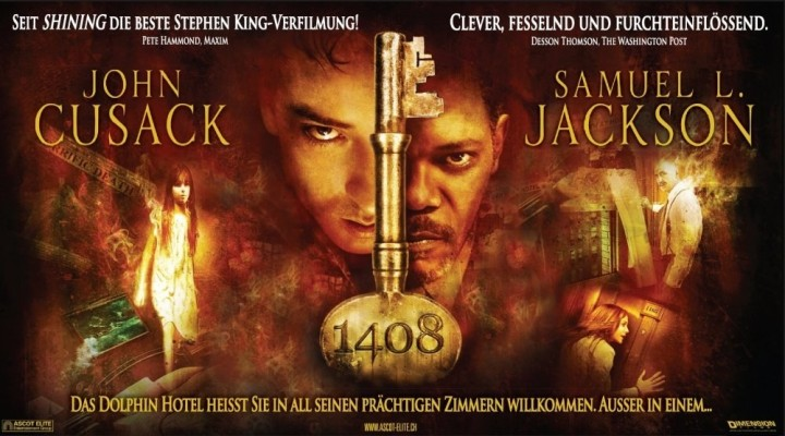 1408 (1408) Stephen King Horror Filme