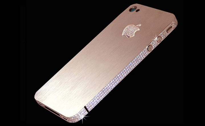 Das teuerste Handy der Welt iPhone 4 Diamond Rose Edition