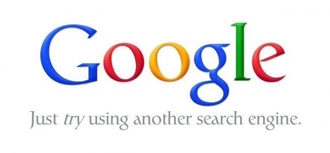 Google. Versuchen Sie eine andere Suchmaschine zu verwenden