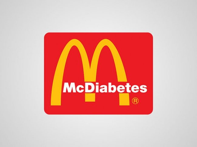 MC Donalds. Mack Diabetes