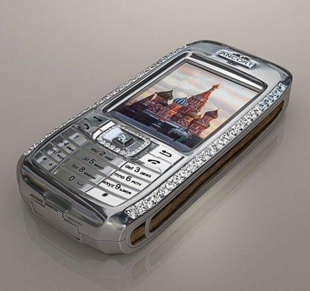 Mobiltelefon - Diamant Crypto Smartphone