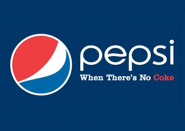 Pepsi. Wenn kein Cola da ist