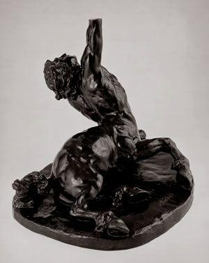 William Rimmer - Der sterbende Centaur