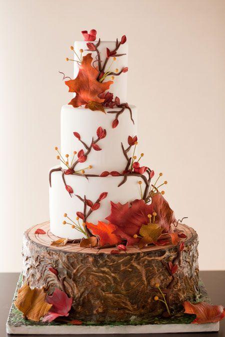 Baumstümpfe Hochzeit Ideen für rustikale Land-Hochzeit