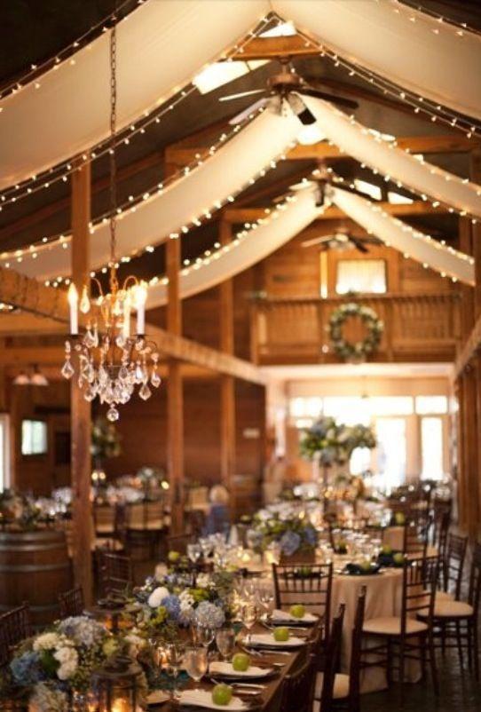 Atemberaubend scheune hochzeit dekorationen ideen brautkleider