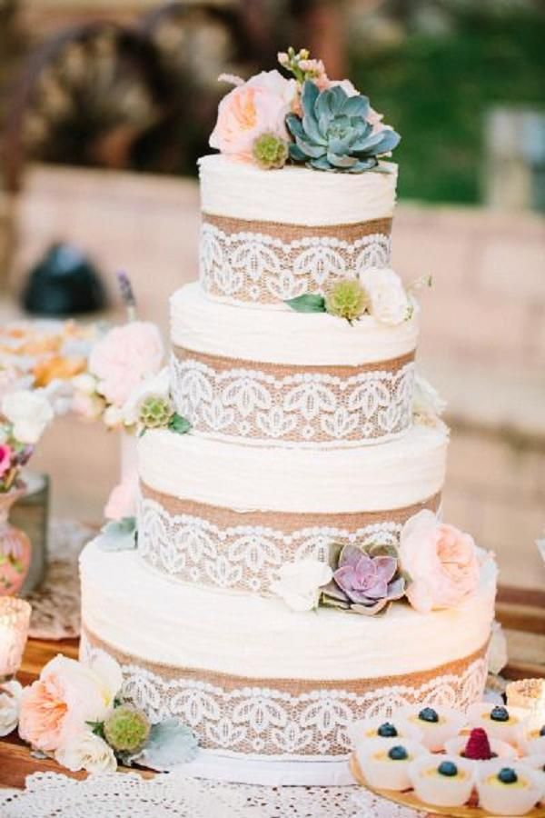 Teapot Naked Wedding Cake