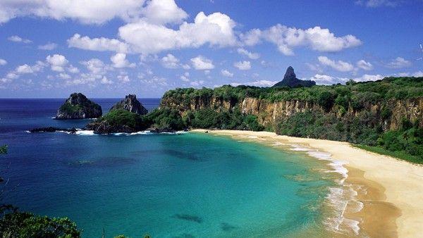 1 Baia do Sancho, die Inselgruppe Fernando de Noronha, Brasilien