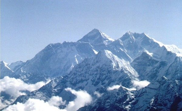 1. Mount Everest, 8848 m